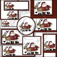 Jolly St. Nick Print Pack
