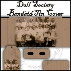 Doll Society Bandaid Tin Cover Set