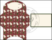 Christmas Cookies Gift Card Holder Set 1