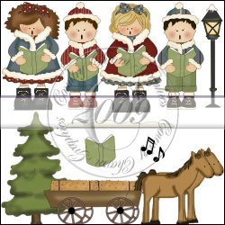 Christmas Carolers Mini Collection