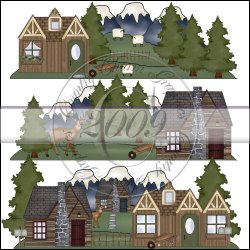 Mountain Homes Mini Collection