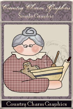 Bakin with Granny Single Graphic Set