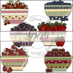 Fruit Bowls Mini Collection