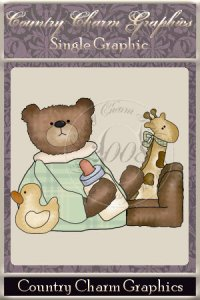 Baby Bear Single Graphic Set