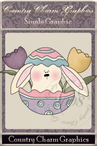 Hatching Bunny Single Graphic Set