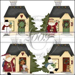 Christmas Cottages Mini Collection