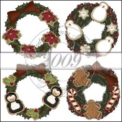 Cookie Wreaths Mini Collection