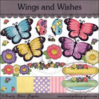 Wings and Wishes Mini Collection