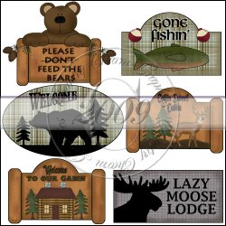 Cabin Signs Mini Collection