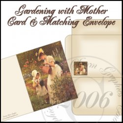 Gardening with Mother Card Set