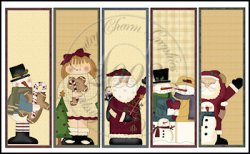 Winter Fun Bookmark Sheet
