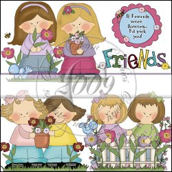 Friendship Blooms Mini Collection