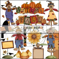 Beary Scarecrows Collection