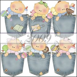 Baby Pockets Mini Collection