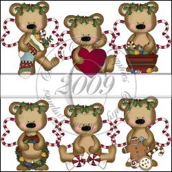 Christmas Angel Bears Mini Collection