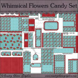Whimscial Flowers Candy Resellers Limited Set