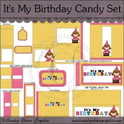 It's My Birthday Candy Resellers Limited Set