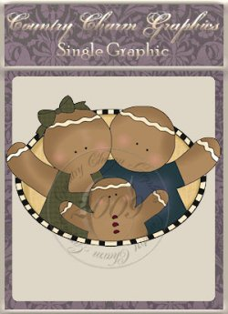 Ginger Family Oval Single Graphic Set