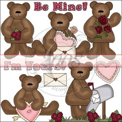 Valentine Bears Mini Collection