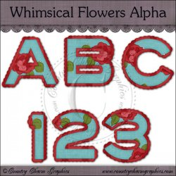Whimscial Flowers Alpha Resellers Limited Set
