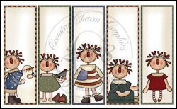 Silly Annie Bookmark Sheet