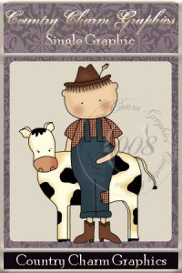 Wee Folk Farmer Single Graphic Set