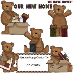 Moving Day Bears Mini Collection