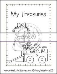 My Treasures Line Art & Pattern Single