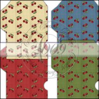 Grandma's Pantry Cherries Gift Card Sleeve Collection
