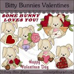Bitty Bunnies Valentines Mini Collection