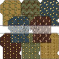 Woodland Stitches Gift Card Sleeve Collection
