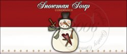Snowman Soup Label 2