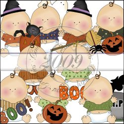 Silly Halloween Babies Collection