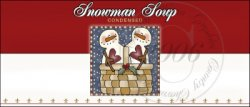 Snowman Soup Label 4