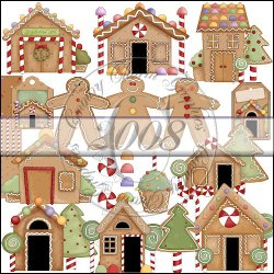 Gingerbread Lane Collection