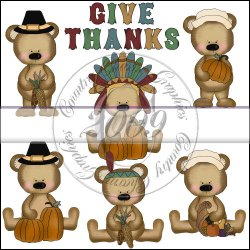 Bears First Thanksgiving Mini Collection