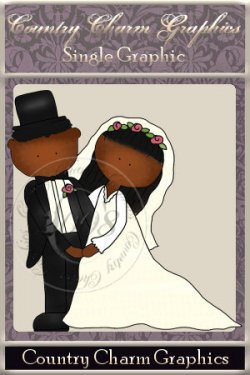 Wee Folk Wedding Single Graphic Set 2