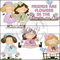 Friends are Flowers Mini Collection
