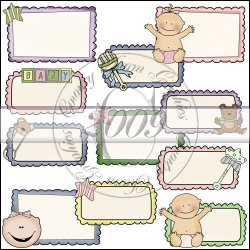 Baby Doodle Frames Mini Collection