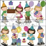 Snicklefritz Birthday Kids Mini Collection
