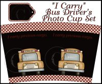 """I Carry"" Photo Cup Cover Set"