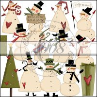 Simply Snowmen Collection