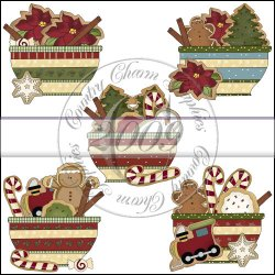 Christmas Cookie Bowls Mini Collection