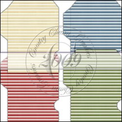 Grandma's Pantry Stripes Gift Card Sleeve Collection