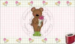 Love Bears Kleenex Oval Cover