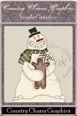 Ole Prim Snowman Single Graphic Set