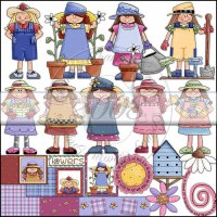 Whimsical Garden Girls Collection 2