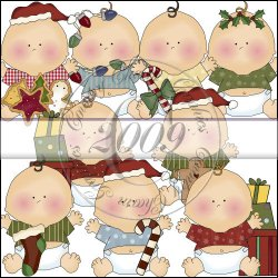 Silly Christmas Babies Collection