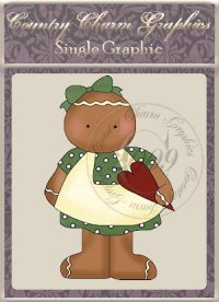 Heart Ginger Single Graphic Set