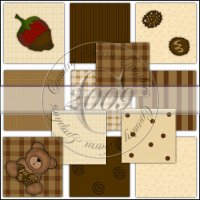 Chocolate Background Collection